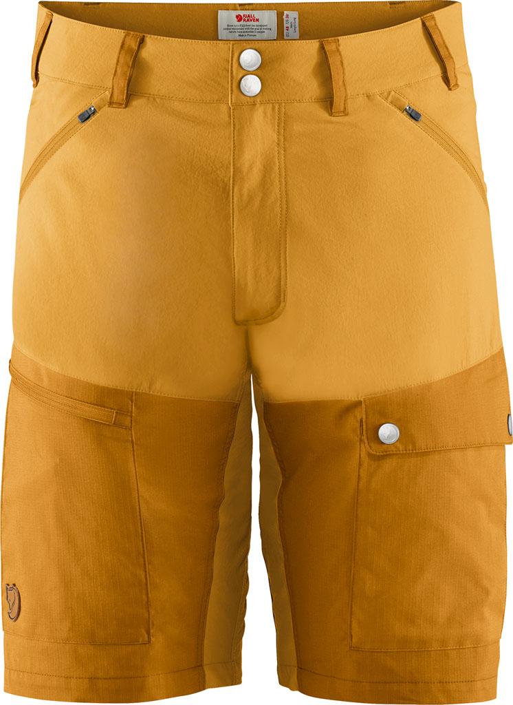 fjellreven abisko midsummer shorts herre - ochre - golden yellow
