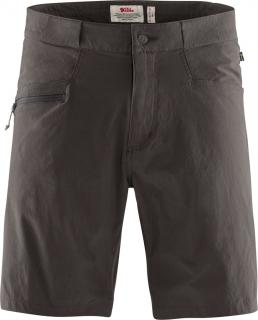 fjellreven high coast lite shorts herre - dark grey