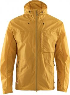 fjellreven high coast wind jacket herre - ochre