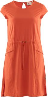 fjellreven high coast lite dress dame - rowan red