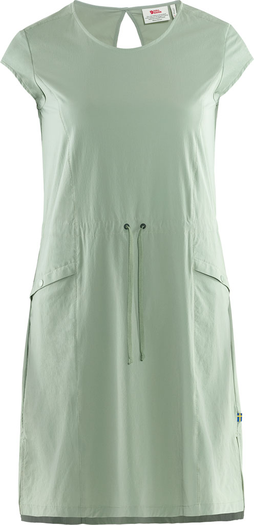 fjellreven high coast lite dress dame - sage green