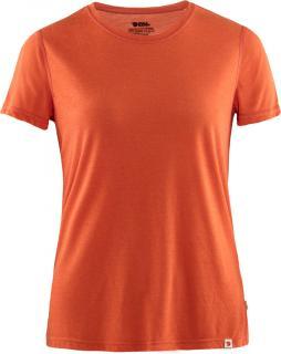 fjellreven high coast lite t-shirt dame - rowan red