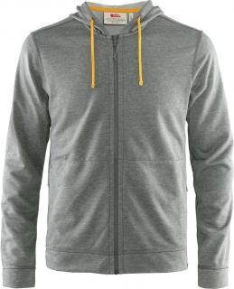 fjellreven high coast lite hoodie herre - grey