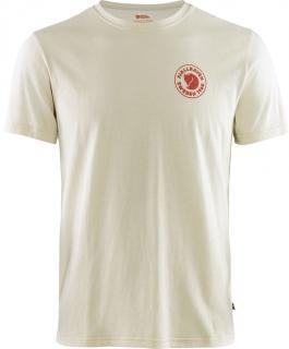 fjellreven 1960 logo t-shirt herre - chalk white