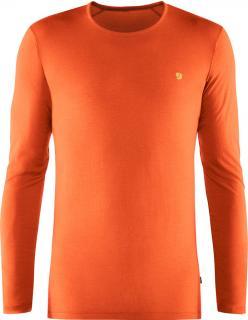 fjellreven bergtagen thinwool ls herre - hokkaido orange
