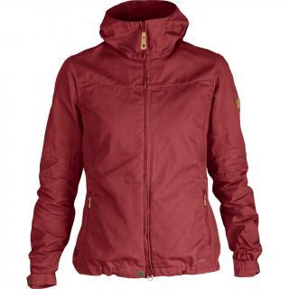 fjellreven stina jakke dame - raspberry red
