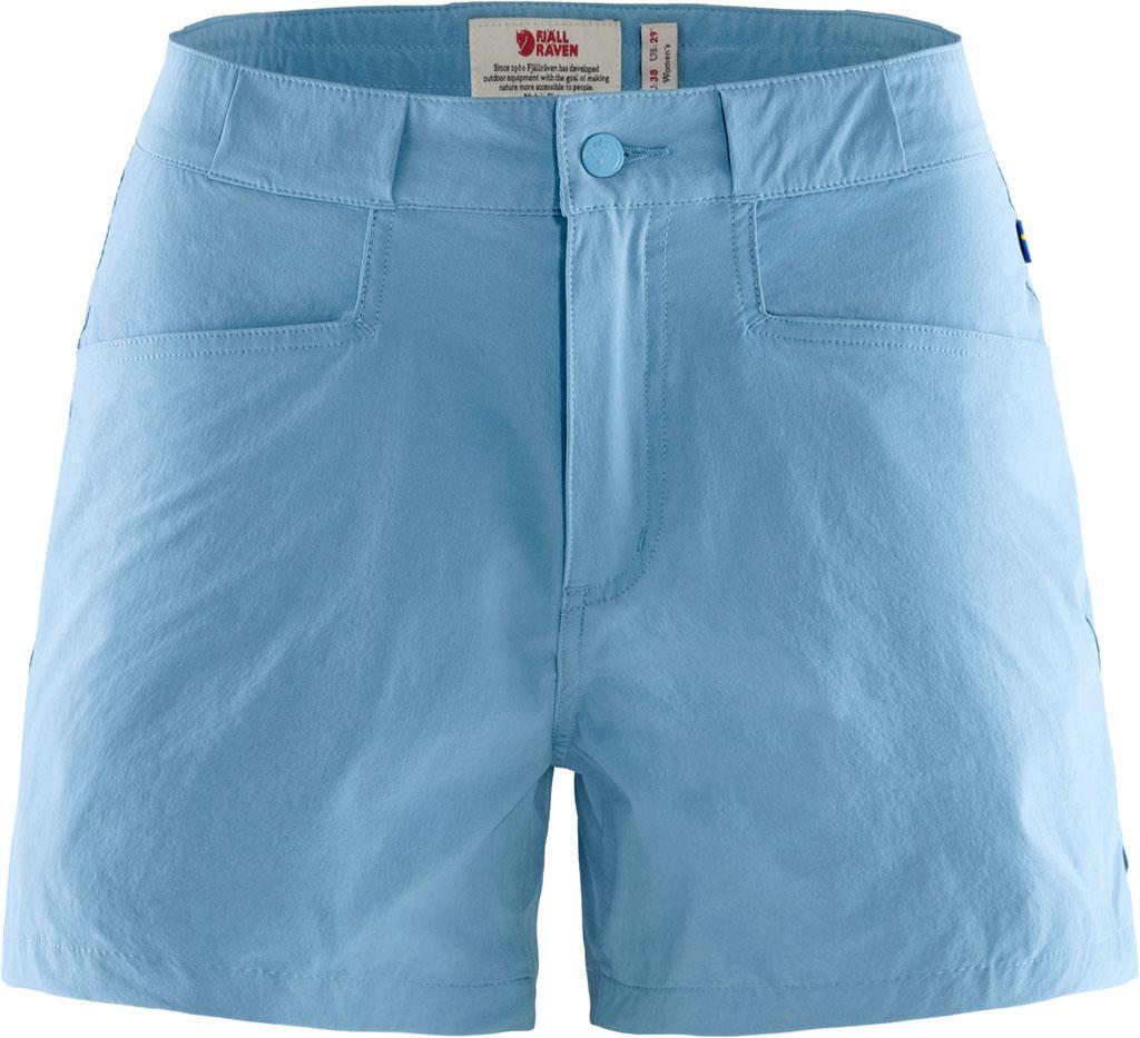 fjellreven high coast lite shorts dame - river blue