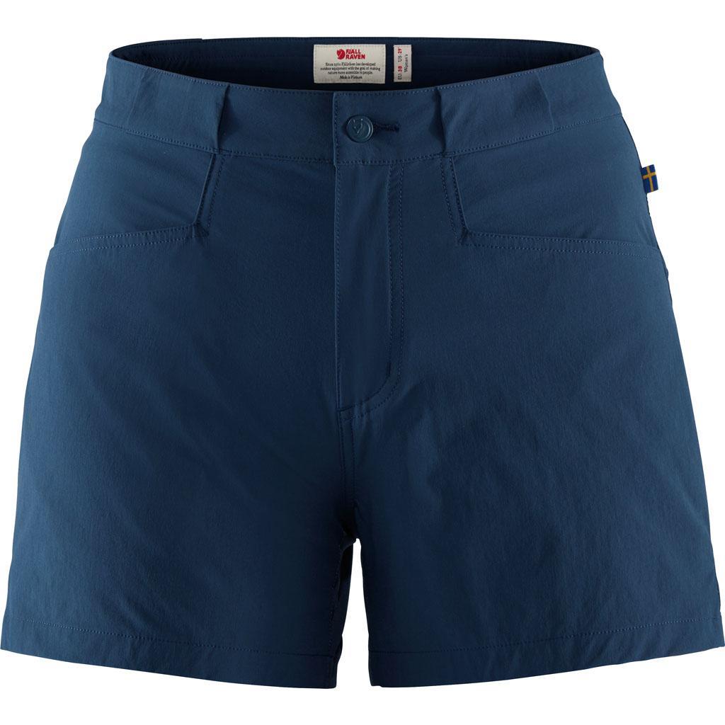 fjellreven high coast lite shorts dame - navy