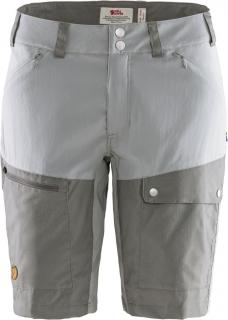 fjellreven abisko midsummer shorts dame - shark grey - super grey