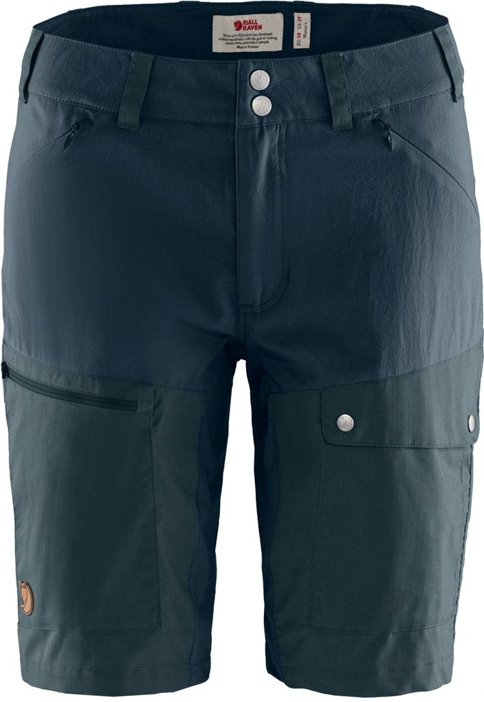 fjellreven abisko midsummer shorts dame - dark navy