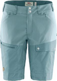 fjellreven abisko midsummer shorts dame - mineral blue - clay blue