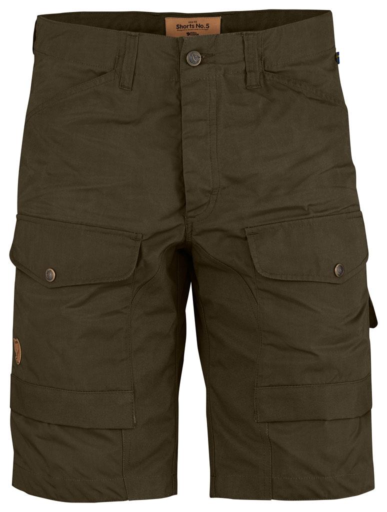 fjellreven shorts no. 5 - dark olive
