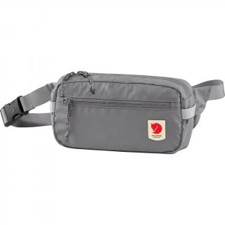 fjellreven high coast hip pack - shark grey