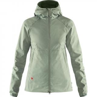 fjellreven high coast shade jacket dame - sage green