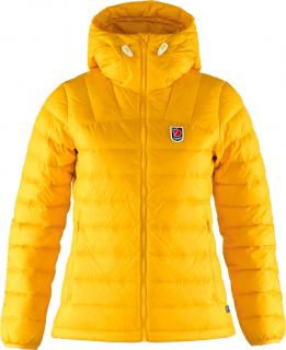 fjellreven expedition pack down hoodie dame - dandelion