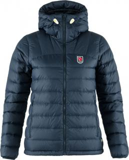 fjellreven expedition pack down hoodie dame - navy