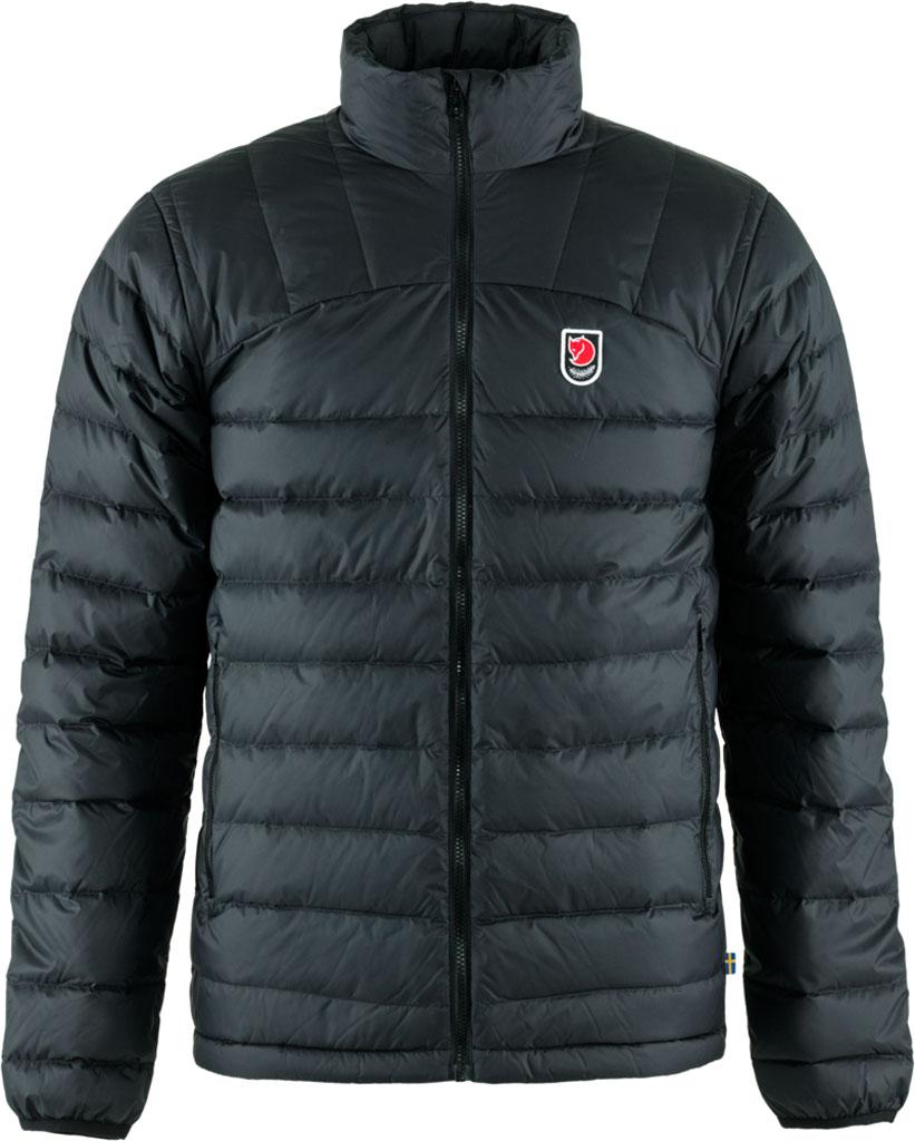 fjellreven expedition pack down jacket herre - black