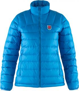 fjellreven expedition pack down jacket dame - un blue