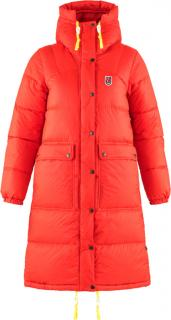 fjellreven expedition long down parka dame - true red