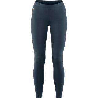 fjellreven bergtagen thinwool long johns dame - mountain blue