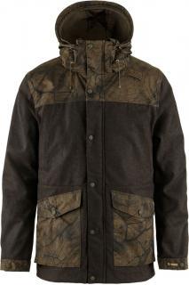 fjellreven värmland wool jacket herre - dark olive - dark olive camo