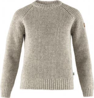 fjellreven brattlands sweater no.1 dame - fog