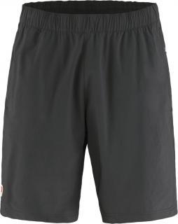 fjellreven high coast relaxed shorts herre - dark grey