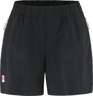 fjellreven high coast relaxed shorts dame - black