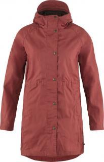 fjellreven karla lite jakke dame - raspberry red