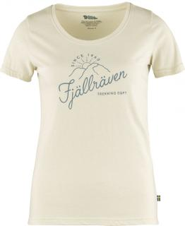 fjellreven sunrise t-skjorte dame - chalk white
