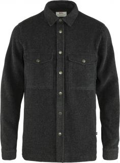 fjellreven canada shirt solid herre - dark grey