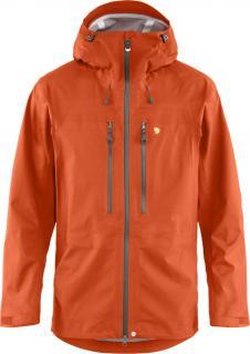 fjellreven bergtagen eco-shell jacket herre - hokkaido orange
