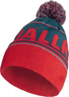 fjellreven fjällräven pom hat - storm - true red