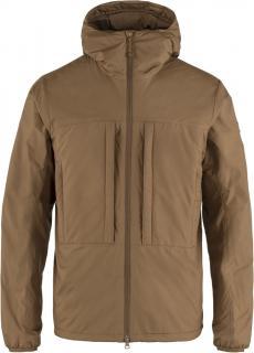 fjellreven keb wool padded jacket herre - timber brown
