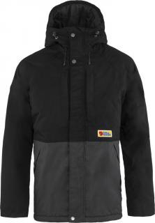 fjellreven vardag lite padded jacket herre - black - dark grey